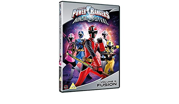 Power Rangers Ninja Steel: Fusion Volume 3 Episodes 9-12 DVD ...