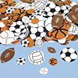Fun Express Fabulous Foam Self-Adhesive Sport Ball Shapes - 500 Pieces