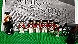 LEGO Revolutionary War era British Army Redcoats and General Cornwallis