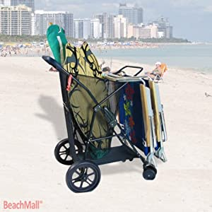 1. Collapsible Wonder Wheeler II by Rio Brands
