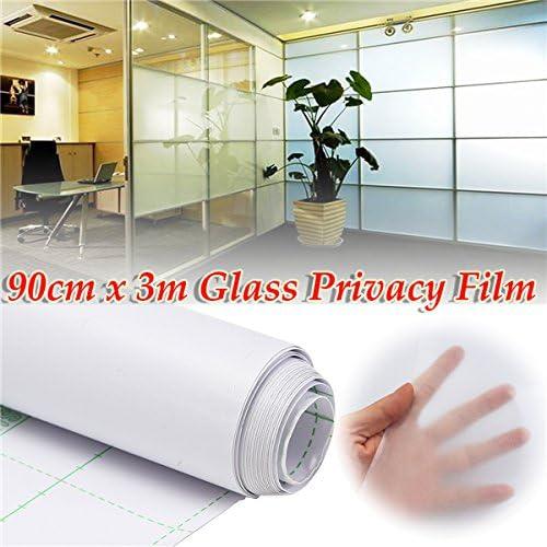 Queenwind 90cm 300cm、DIY ホームオフィスストア用ガラスプライバシー PVC フィルム