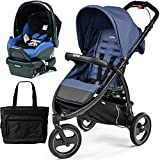 Peg Perego - Book Cross Mod Bluette Travel Systems with a Diaper Bag