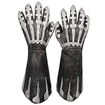 Black Panther Gloves Adult Halloween Costume Fancy Dress