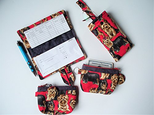 quilted checkbook cover - 3