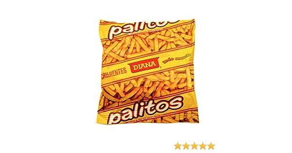 Amazon.com : Diana Corn Sticks 1.12 oz - Palitos De Maiz : Corn Chips And Crisps : Grocery & Gourmet Food
