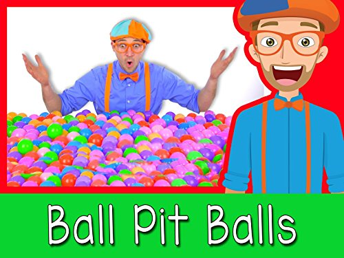 Learn Colors of Machines with Blippi - Colorful Balls