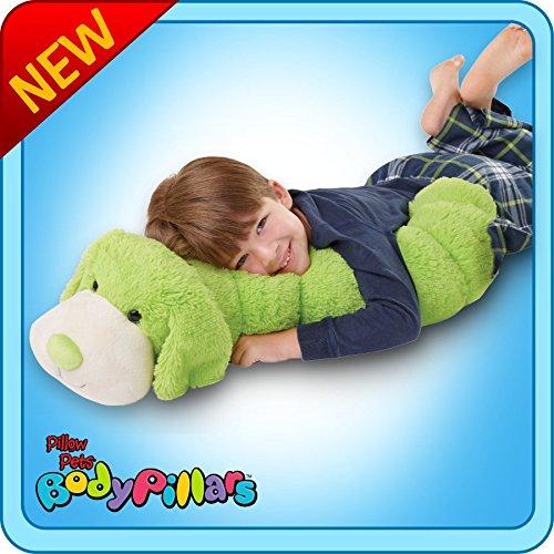 Authentic Pillow Pets BodyPillar Body Pillow Squiggly Dog La