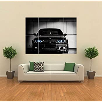 BMW CLUB GEORGIA CAR GIANT POSTER WALL ART PICTURE G818