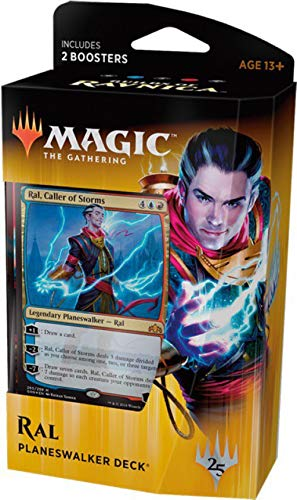 Magic The Gathering: MTG: Guilds of Ravnica Planeswalker Deck - RAL  (Red/Blue) w/Two Booster Packs