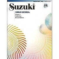 Suzuki Violin School Edición revisada Violin Part Book & CD Volume 1
