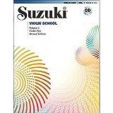 Suzuki Violin School Revised Edition Violin Part Book & CD Volume 1