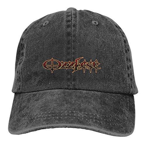 (LeafLover Ozzy Osbourne Unisex Cotton Denim Cap Hat Adjustable Classic Skull Cap)
