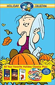 Peanuts Holiday Collection A Charlie Brown Christmasa Charlie Brown Thanksgivingits The Great Pumpkin Charlie Brown Vhs by CBS Television