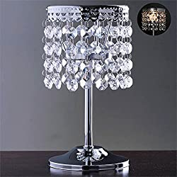 BalsaCircle 7.5-Inch tall Silver Crystal Tealight Candle Holder - Wedding Party Dining Table Home Centerpieces Decorations
