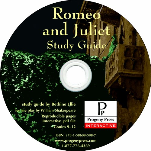 Romeo and Juliet Study Guide CD-ROM ()
