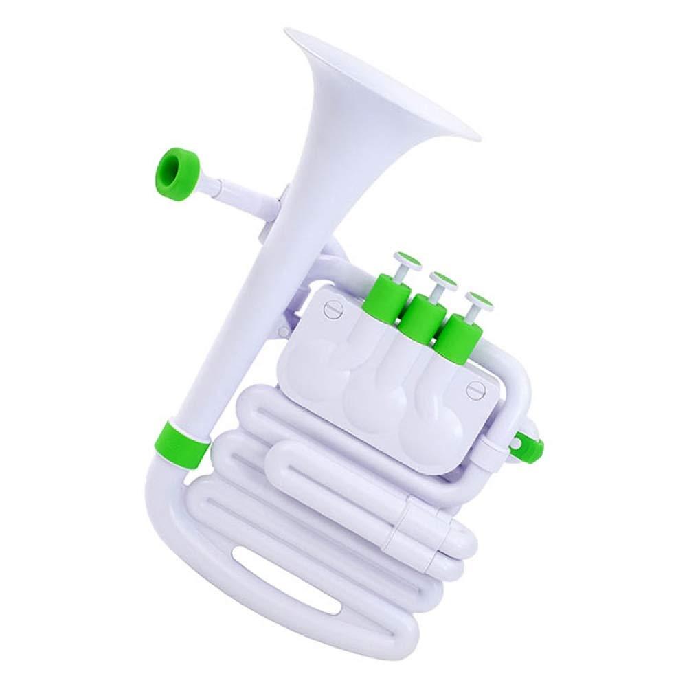 Nuvo jHorn Cuerno de boxeo color blanco y verde