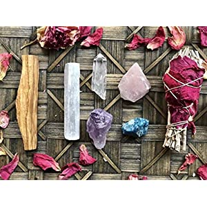 Goddess Smudge & Crystal Bundle Set 32