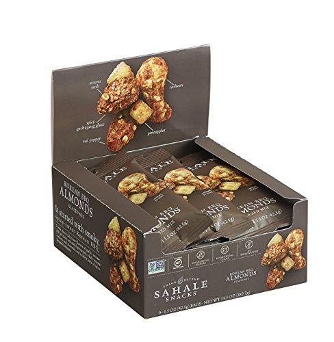 Sahale Snacks Almonds Glazed Mix, Gluten-Free Snack, Korean BBQ, 1.5 Ounce
