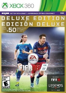FIFA 16 - Deluxe Edition - Xbox - Top 20 Xbox 360 Games