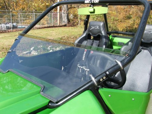 Arctic Cat Wildcat 1000 Tinted Half Front Windshield Dot Weld OffRoad Dot-AC1000-TH