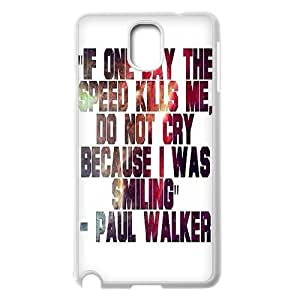 DDOUGS I Furious and Fast 7 Personalized Cell Phone Case for Samsung Galaxy Note 3 N9000, Best I Furious and Fast 7 Case