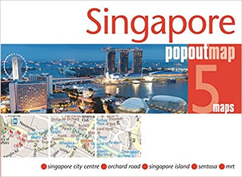 Singapore PopOut Map - handy, pocket-size, pop-up Singapore map ...