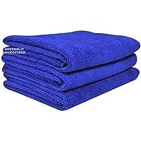 SOFTSPUN Microfiber Hair & FACE Care Towel - 40x60 CMS - 3 Pcs