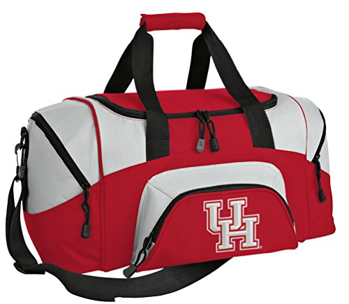 SMALL University of Houston Travel Bag UH Gym Bag by Broad Bay