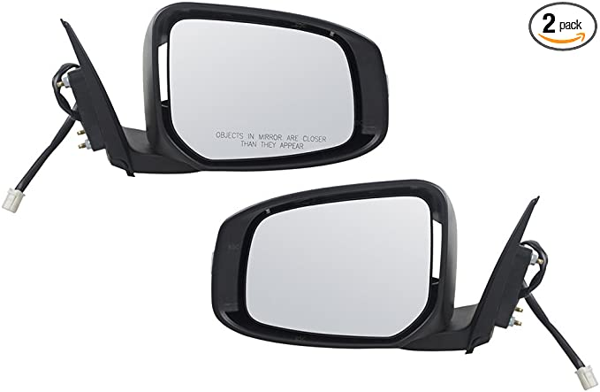 Sportback 7632C352WB Passengers Power Side View Mirror Heated w// Signal Replacement for Mitsubishi Lancer /& Evolution