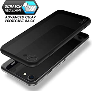 X-level iPhone 8 case/iPhone 7 case, [Military Protection] Translucent Hard Matte PC Back Cover Shockproof and Anti-Drop Protective Case with Soft Edges Bumper for iPhone 7/8