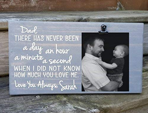 Amazoncom Dad Letterpoem Picture Frame Gift Gift For Dad Photo