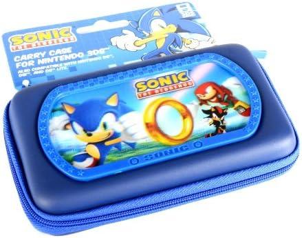 Sonic The Hedgehog Lenticular Console Case Nintendo 3ds Ds Amazon Co Uk Pc Video Games