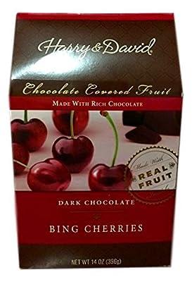 Harry and David, Dark Chocolate Cherries, 14 Oz. Box