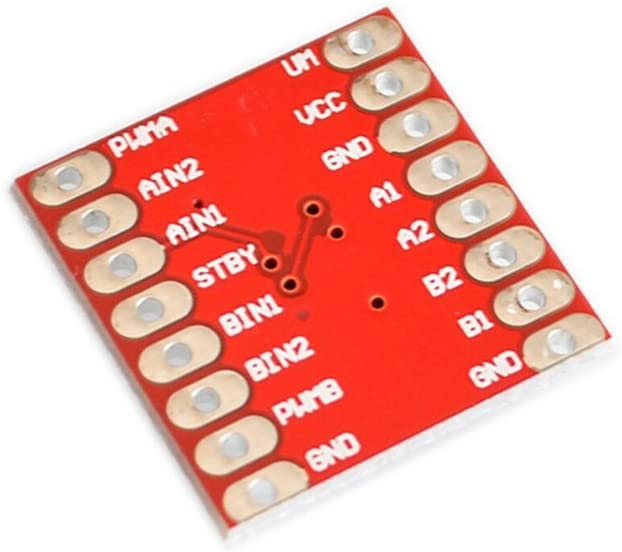 10pcs//lot Dual Motor-Driver 1A TB6612FNG Microcontroller Better than L298N