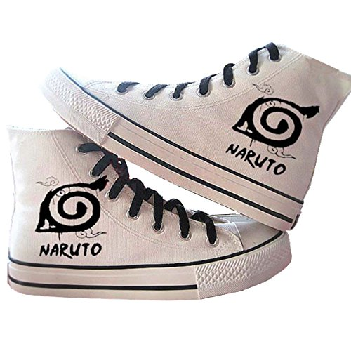 Fanstown Naruto Hand Painting Canvas Schoenen Coole Sneaker + 1 Poster 1