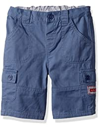 JoJo Maman Bebe Twill Shorts (Toddler/Kid) Indigo