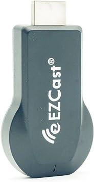 EZCAST - Dongle 2.4G para visualizar el WiFi a 1080p. Tarjeta HDMI para streaming de TV y otros medios. Soporta EzCast App, DLNA, Miracast, EZMirror y Youtube M2 2.4G: Amazon.es: Electrónica