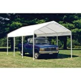 ShelterLogic SuperMax Heavy Duty Steel Frame Quick and Easy Set-Up Canopy 12' x 20'