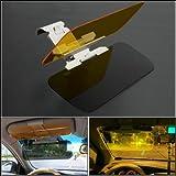 ieasysexy Uhome 2 in 1 Car Sun Visor Mirror Day and Night Glare Mirror Auto Glasses Driver Night Vision Goggles for Day & Night Driving