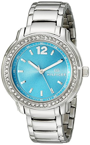 Tommy Hilfiger Women's 1781502 Crystal-Accented Stainless Steel Watch