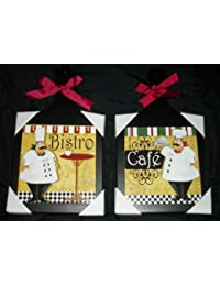 Win 2 Hanging Bistro Fat Chef Cutting Boards dispense