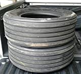 (1) One Implement tire. Size: 11L-15 Tire, 12 PLY. Tubeless Tire