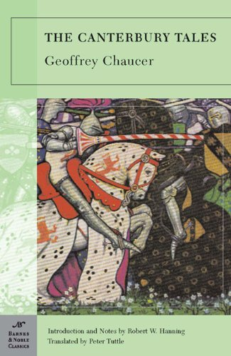 """a book report on canterbury tales by geoffrey chaucer Geoffrey chaucer: geoffrey chaucer, the outstanding english poet before shakespeare and """"the first finder of our language"""" his the canterbury tales ranks as one."""