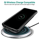 NEWDERY Upgraded Samsung Galaxy S10 5G Battery Case Qi Wireless Charging Compatible, 5000mAh Slim Rechargeable Portable External Charger Case Compatible for Samsung Galaxy S10 5G