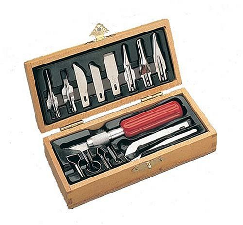 Xacto X5175 Deluxe Woodcarving Set by X-Acto