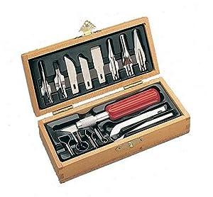1. Xacto X5175 Deluxe Woodcarving Set
