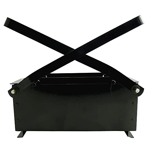 Heavy Duty Paper Log Briquette Maker - A Simple way to Recycle your Old papers / Newspapers - Alternative to burning charcoal