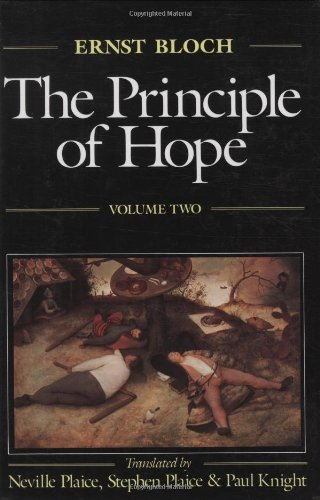The Principle of Hope, Vol. 2 (Studies in Contemporary German Social Thought)
