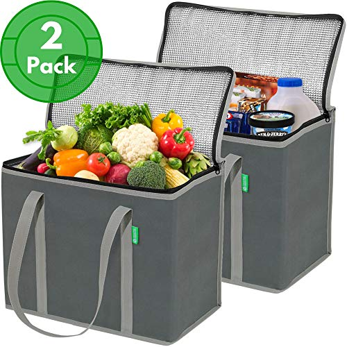 Insulated Reusable Grocery Bags
