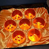 Collectible Medium Crystal Glass Balls - 7 Pcs with Gift Box, 43MM in Diameter/1.7 in in Diameter